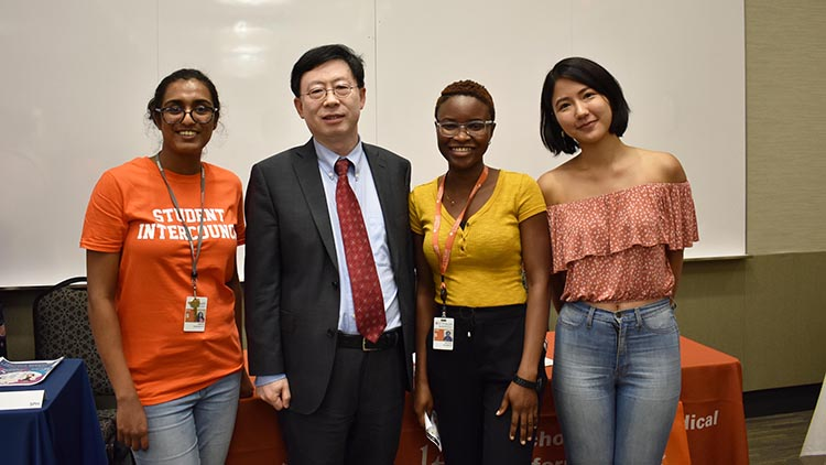The SGO team with Dr.Zhang