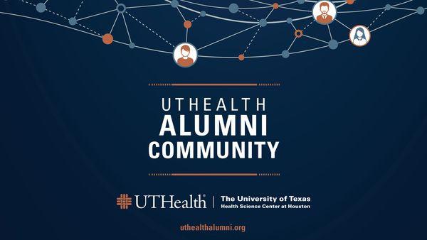 Image of UTHeal Alumni Community Flyer
