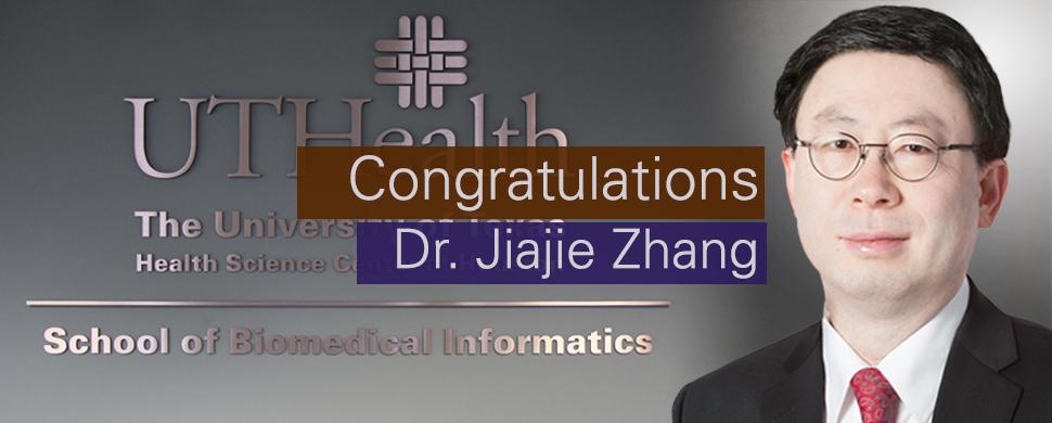 APAHA Honors SBMI Dean Jiajie Zhang