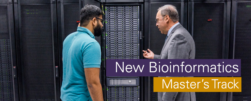 New Bioinformatics Master's Track