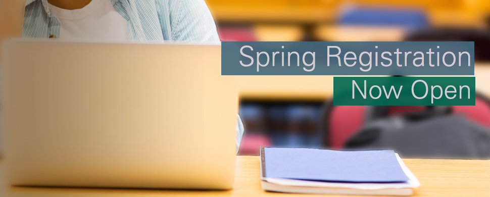 Spring 2019 Registration Now Open