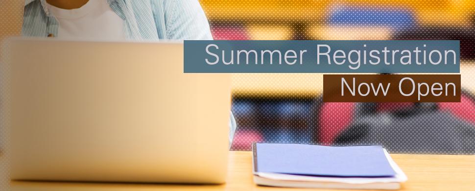 Registration for Summer 2015