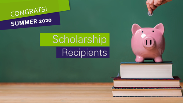 Summer 2020 Scholarship Recipients