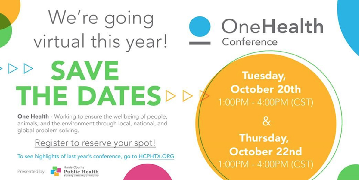 One Health Virtual Conference 2020