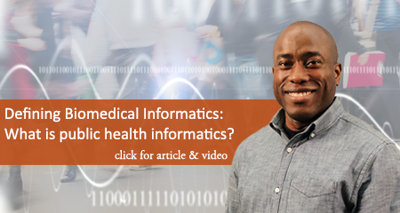 What is public health informatics?