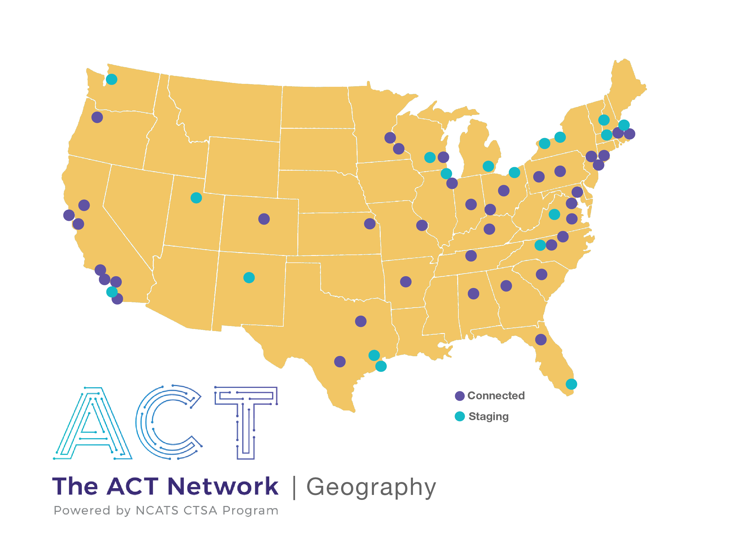 ACT Geographic Map